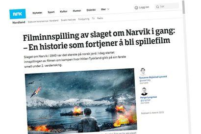 Korona lopetti myös taistelun Narvikista, elokuva Norjan suurimmasta sotaoperaatiosta  pantu jäihin