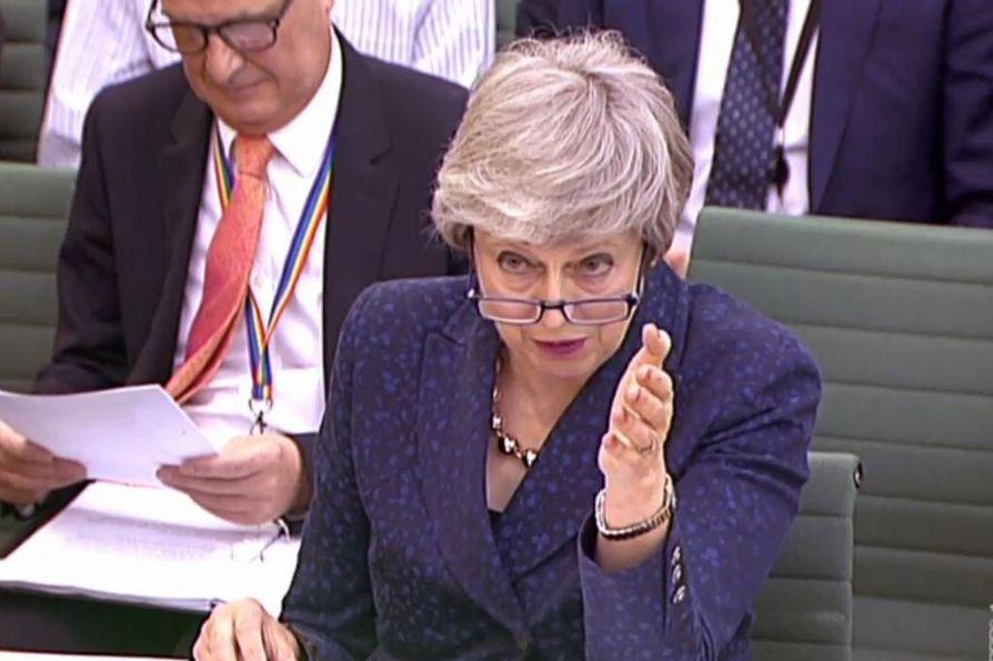 Pääministeri Theresa May toivoo nyt, että Brexit-sopu toteutuu parlamentissa, ennen kuin uuden EU-parlamentin jäsenet aloittavat. Uusi Euroopan parlamentti aloittaa kautensa heinäkuun 1. päivänä.