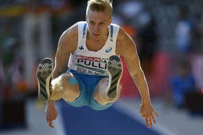 Kristian Pulli leiskautti EM-pronssille