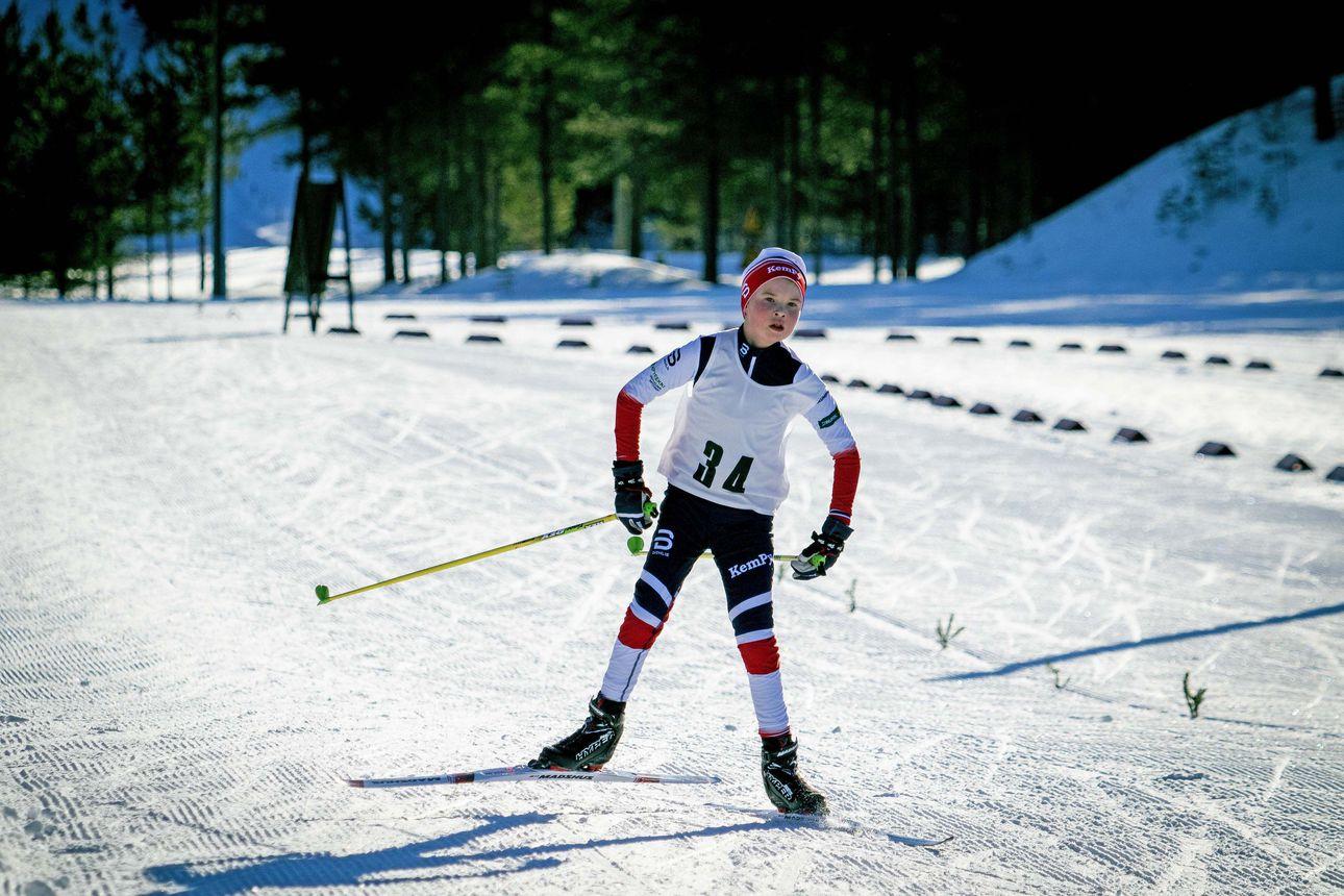 Limingan kansallisten hiihtojen osanottajamäärä rajattiin korona vuoksi 150:een – tulijoita olisi ollut paljon enemmän, sillä tällä kaudella kisoja on ollut vähän
