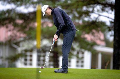 """Tähän mennessä paras golfkesä – """"Kun pelaat ennätyskierroksen, silti jää vähän jossiteltavaa, että tuon olisi voinut tehdä paremmin"""""""