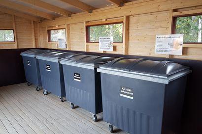Oulujärven venesatamien jätehuoltoon merkittäviä parannuksia – Koutalahden venesatamassa kerätään nyt kuutta eri jätelajia