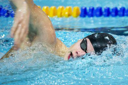 KemTU:n Ronny Brännkärr kauhoi SM-mitaliketjulle jatkoa, 100 metrin vapaauinnista tuli hopeaa
