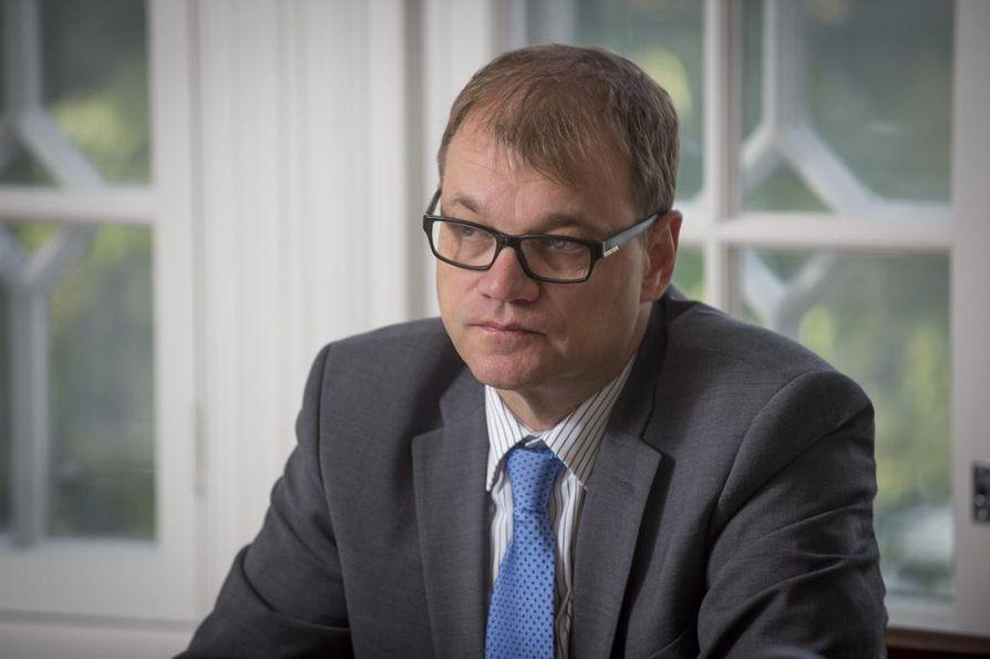 Pääministeri Juha Sipilä (kesk.). on saamassa pöydälleen pyytämänsä työmarkkinasopimuksen.