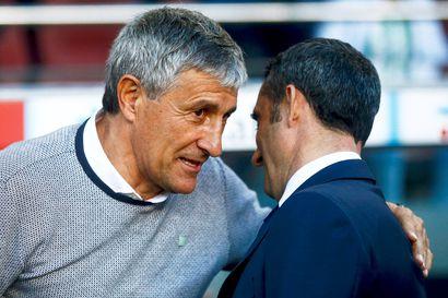 Barcelona antoi potkut päävalmentajalleen Ernesto Valverdelle - Quique Setien uusi komentaja