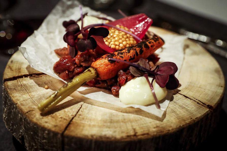 Sky Ounasvaaran porotartar ihastutti paitsi kauneudellaan, myös aidoilla pohjoisen mauilla.