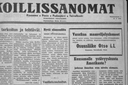 Wesa Rinne muistelee Koillissanomien historiaa.