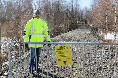 Iso tulva tekee hitaasti tuloaan Tornionlaaksoon - Torniossa ja koko jokivarressa on syytä varautua poikkeukselliseen tulvaan