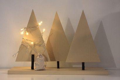Näin askartelet kotiin jouluksi tunnelmallisen pöytäkoristeen ja talvisen unisiepparin villatupsuista