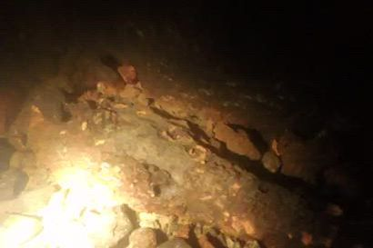 Tornionjoen pohjassa ammuksia