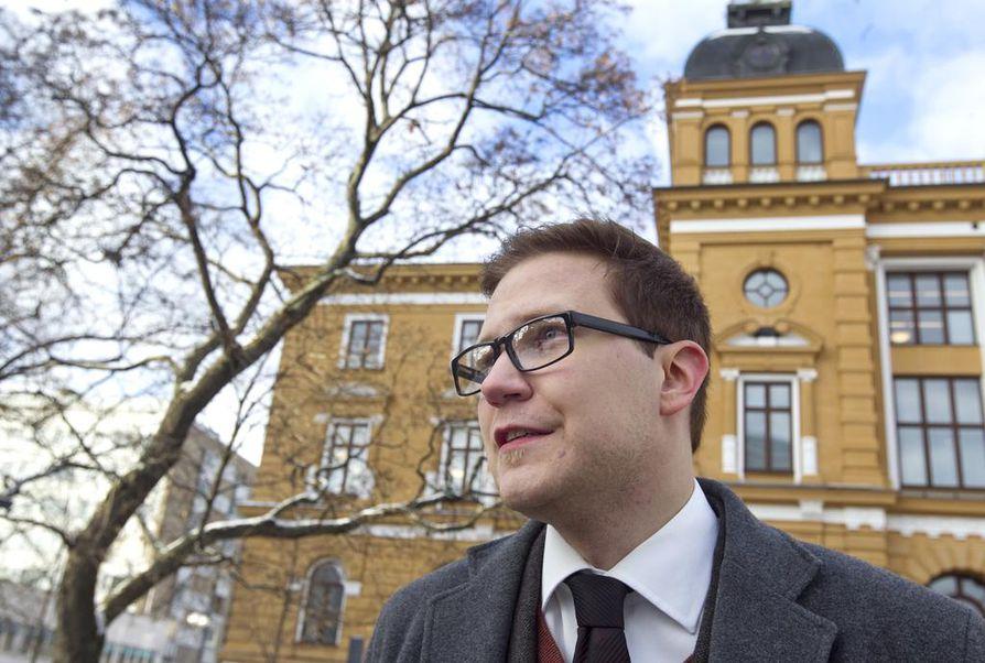 Olli Immonen on toisen kauden kansanedustaja, joka on aiemmin toiminut myös Oulun kaupunginvaltuutettuna. Arkistokuva.