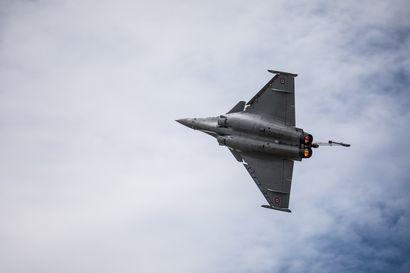 Hävittäjäehdokkaiden testaus jatkuu Pirkkalassa – vuorossa on ranskalainen Dassault Rafale