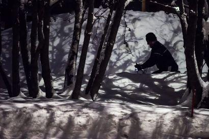 Lunta pian puoli metriä – höttöinen pohja ei kelpaa kaikille
