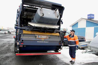 Kemin jäteastioiden tyhjentäjä vaihtuu pääsiäisen jälkeen – tyhjentämishinnat eivät nouse, mutta keräysaikataulut muuttuvat