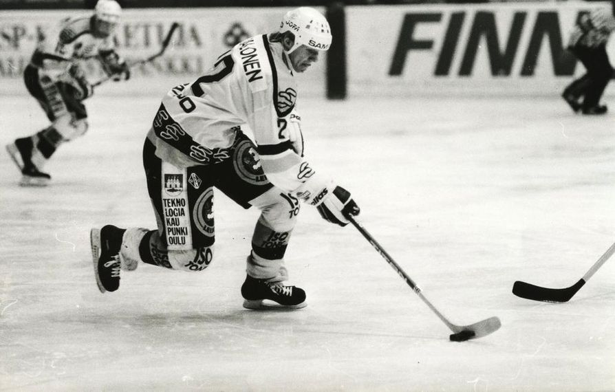 Kari Jalonen oli 1980-luvulla Kärppien paidassa parhaimpina hetkinään pysäyttämätön.