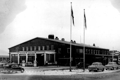Vanhat kuvat: Korjaamoita Oulussa ja muualla Pohjois-Suomessa – renkaita vaihdettiin monenlaisissa halleissa