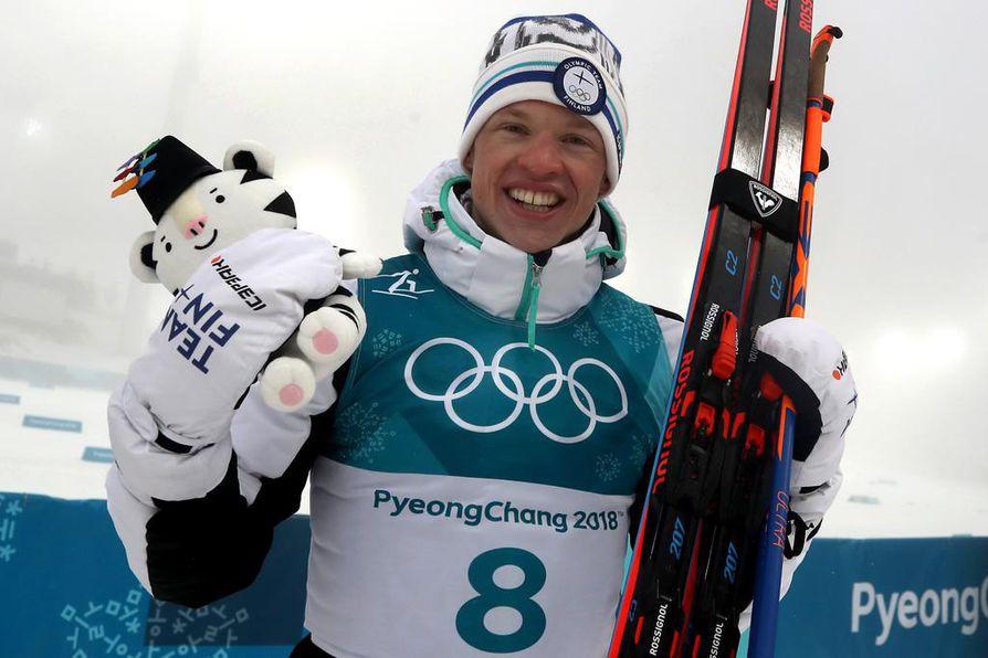 Iivo Niskanen onnistui olympialaisten päämatkalla ja voitti olympiakultaa.