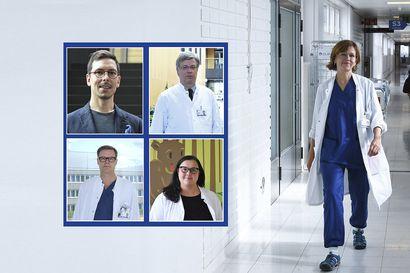 Oulun yliopiston uudet kliinisen alan professorit yhdistävät potilastyön ja tutkimuksen