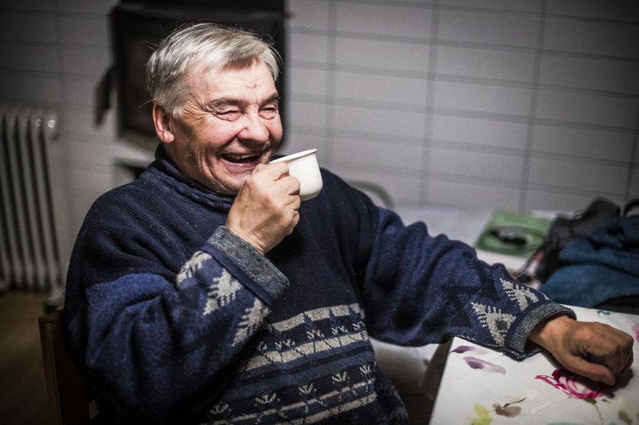 Johan Aslak Labba on viimeisiä, jotka ovat olleet jutaamassa eli muuttaneet vuosittain porojen mukana.
