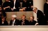 Presidentit Tarja Halonen ja Martti Ahtisaari sekä rouva Eeva Ahtisaari ja Pentti Arajärvi olivat paikalla.