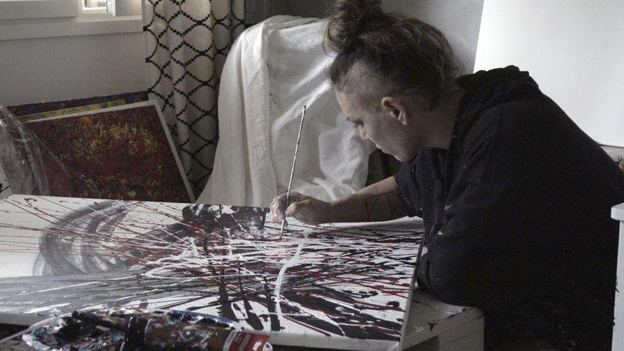 Taide on tärkeä osa Wahlströmin elämää. Hän sanoo, että taide vastapainoa nyrkkeilylle, koska se on niin erilaista.