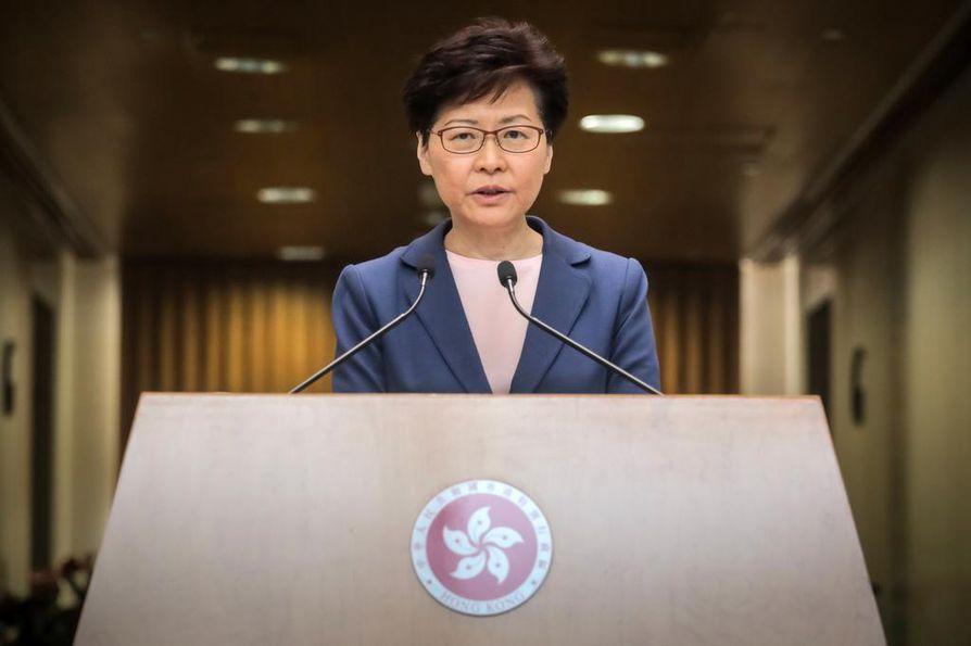 Carrie Lam on Hongkongin neljäs hallintojohtaja Kiinan vallan aikana. Hän on toiminut virassa heinäkuusta 2017 lähtien.
