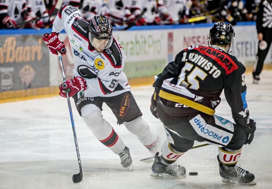 Simon Suorannan pelaaminen nousi uudelle tasolle Porin Ässissä.