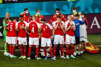 TV-kanavien toiminta Tanska–Suomi-ottelussa herätti kritiikkiä – kamerat kuvasivat, kun Tanskan Christian Erikseniä elvytettiin