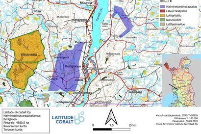 Kaivosyhtiö Latitude 66 Cobalt haluaa tutkia akkumineraalien esiintymistä Rovaniemen ja Tervolan alueilla – jätti varausilmoituksen 45 neliökilometrin alueista