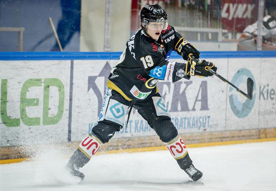 Rasmus Kupari on odotetusti mukana nuorten MM-kisoihin valmistautuvassa ryhmässä.