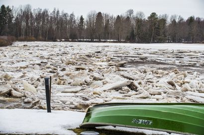 Pyhäjoella on aloitettu tulvasuojelutyöt