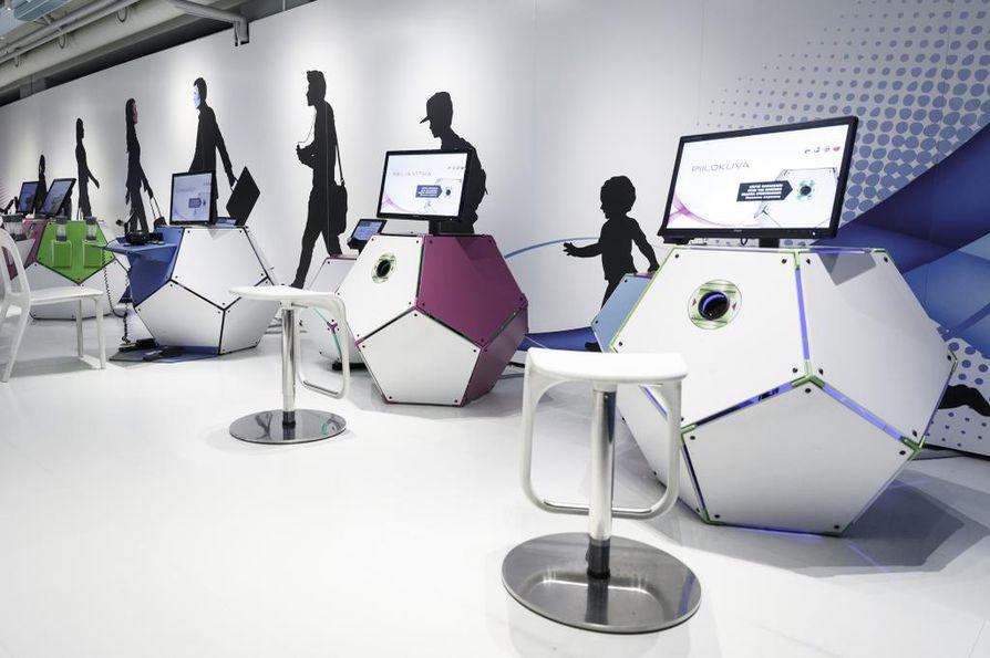 Oulussa pohditaan nyt, missä tulevaisuudessa voi käydä katsomassa ja kokeilemassa muun muassa näitä Tietomaan laitteita.