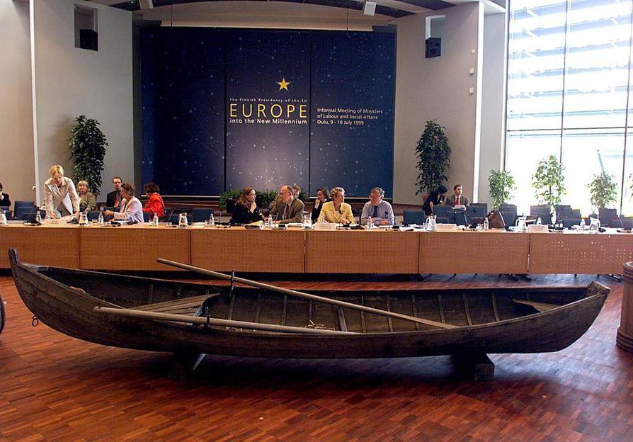 EU:n työministerikokous Oulussa vuonna 1999. Arkistokuva.