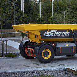 Volvolla valmiina ensimmäinen SSAB:n fossiilivapaasta teräksestä valmistettu ajoneuvo