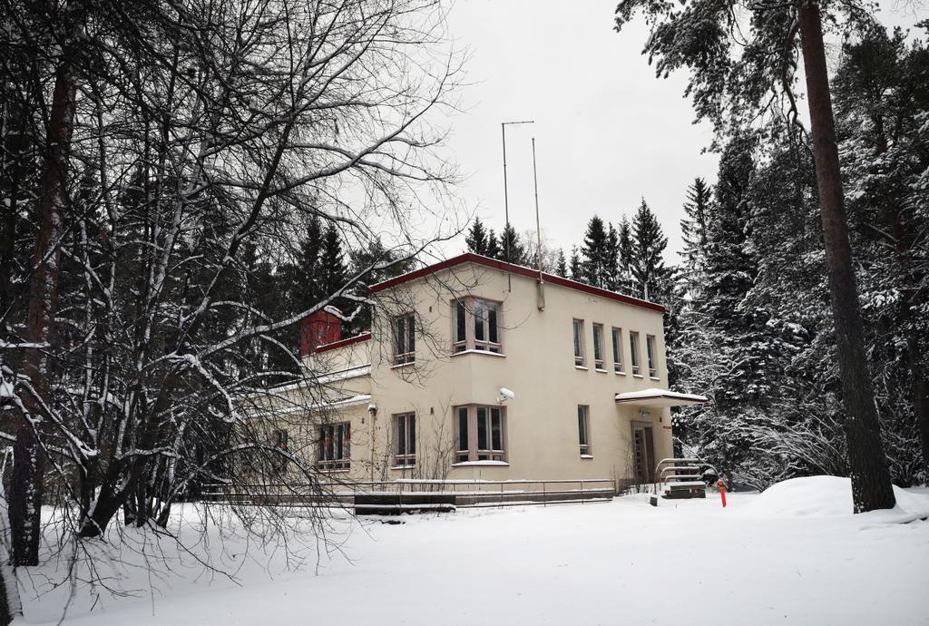 Haluaisitko funkkistalon `piiriltä`?Oulun kaupunki etsii ostajaa von Baghin...
