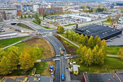 Limingantullista pääsee kohta suoraan Heinäpään urheilukeskukseen – uusi katu Harjapuistontie pian käyttöön