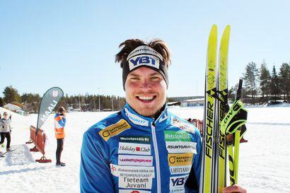 Ari Luusua hiihti harvinaista herkkua Posiolla – Rovaniemeläinen voitti ensimmäistä kertaa Pentik-hiihdot