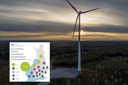 Suomessa sähköverkoissa valmistaudutaan lisääntyvään tuulivoimaan ja mahdollisiin ylituotantotilanteisiin