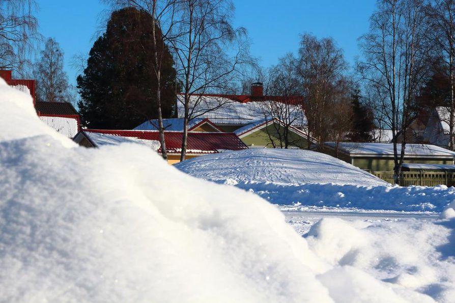 Pahoinpitely tapahtui Lybeckerin puistossa Raahessa.