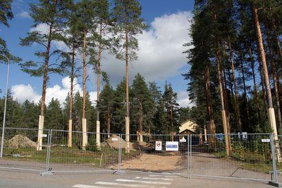 Iso rakennustyö käynnissä, mitä Oulaskankaalla rakennetaan?