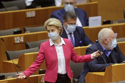 Hallitus vaatii muutoksia EU-komission koronaelpymispakettiin