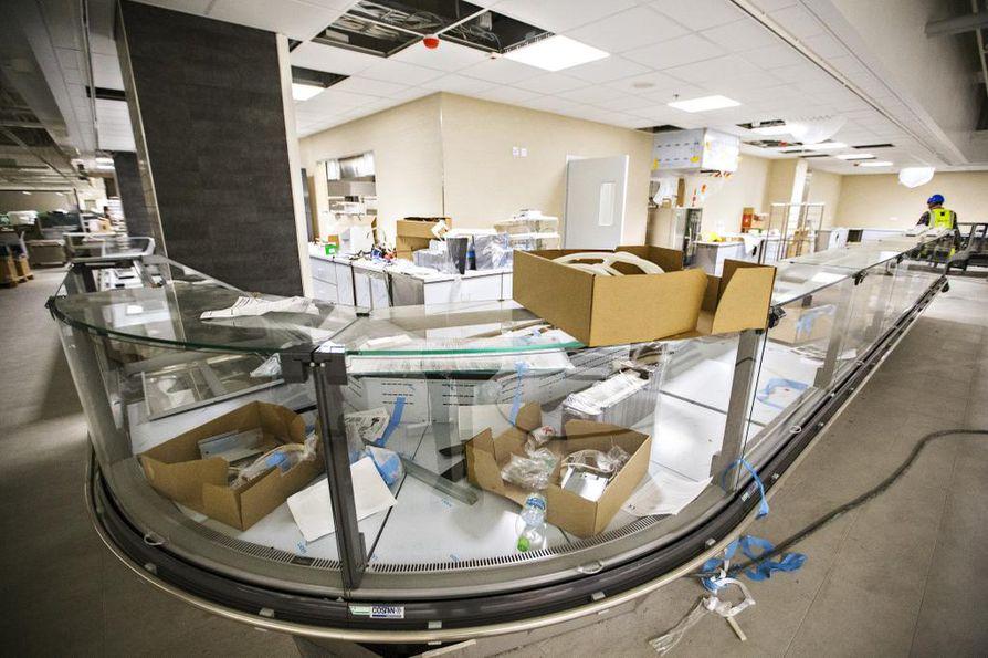 Valkean syke kertoo kauppakeskuksen avausta edeltävistä viikoista. Arkistokuva.