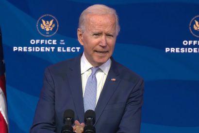 Joe Biden liikuttui kyyneliin pitäessään tunteikkaan kiitospuheen kannattajilleen kotiosavaltio Delawaressa – huomenna hänestä tulee Yhdysvaltain presidentti