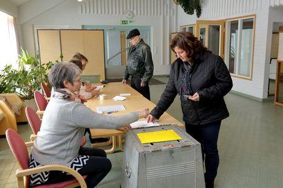 Äänestyspaikat on vahvistettu Siikajoella