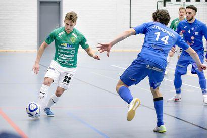 Gullsten jatkaa ToPV:n futsal-liigan joukkueessa