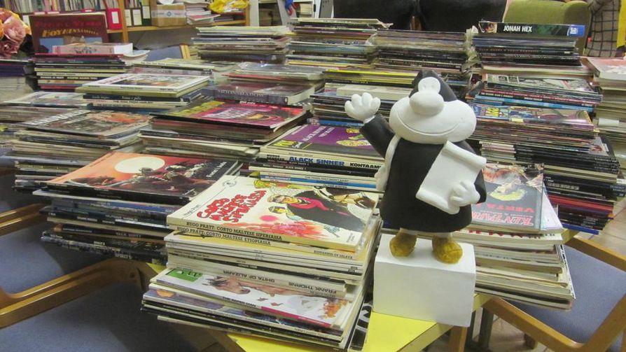 Kemin sarjakuvakeskus ry pyrkii jatkamaan toimintaansa, vaikka näyttely suljetaan.