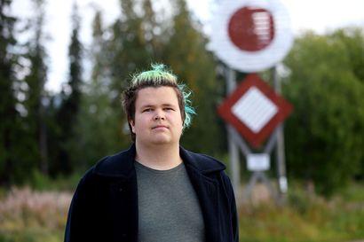 Santeri Saarinen muutti Turusta Raaheen opiskelemaan, koska haluaa oppia tekemään pelejä