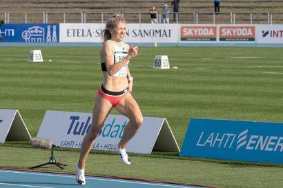 """Kuivisto juoksi 1000 metrin SE:n yksin: """"Se yllätti kuinka helposti juoksu tuli"""""""