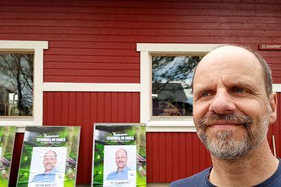 Jan-Erik Wiens teki historiaa – Hänet valittiin Keminmaan ensimmäiseksi vihreäksi kuntapoliitikoksi