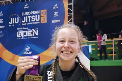 Emilia Långille kaksi EM-pronssia brasilialaisessa jujutsussa